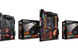 GIGABYTE AORUS X299 Series Motherboards Pictured