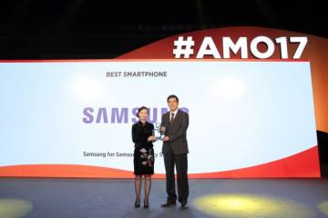 "Samsung Galaxy S8 and S8+ Take the Award for ""Best Smartphone"" at MWC Shanghai"