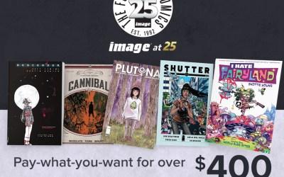 IMAGE COMICS CELEBRATES 25 YEARS WITH A NEW COMICS HUMBLE BUNDLE