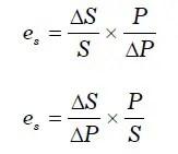 Formula for Elasticity of Supply