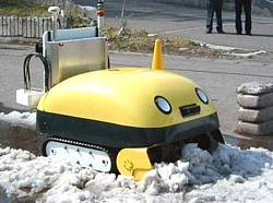 Yuki-taro Robotic Snow Plow