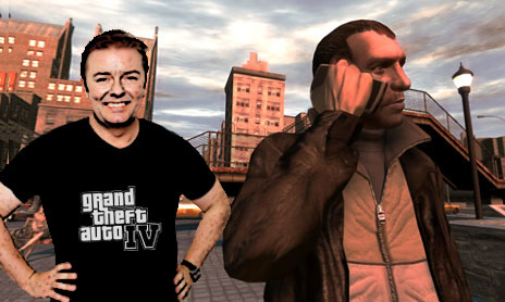 Ricky Gervais in GTA IV