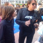 Jonathan Ross at the Star Trek premiere