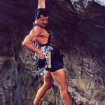 Stallone in 1993's Cliffhanger