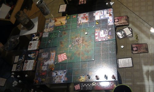Last Night On Earth Board Game Setup