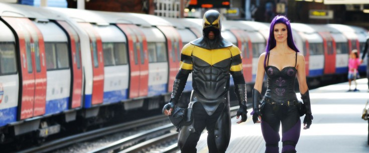 Phoenix Jones & Purple Reign in London