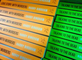Win Talking To The Dead & Love Story, With Murders by Harry Bingham