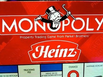 Heinz Ketchup Monopoly
