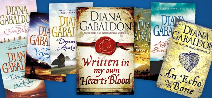 Win the entire Outlander book series