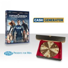 Win Captain America 2 on Blu-ray & a Chocolate Pizza!