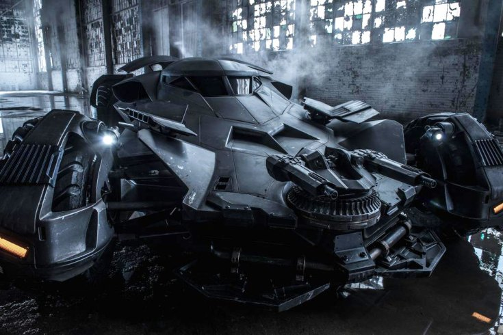 The new Batmobile - official  photo