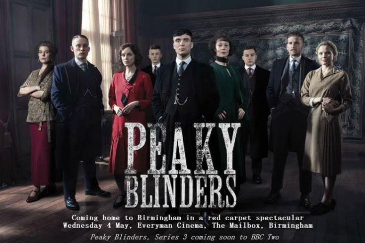 Over 12,000 fans apply to see Peaky Blinders come home to Birmingham!