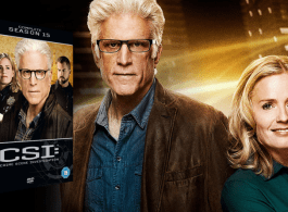 WIN CSI: THE COMPLETE SEASON 15 ON DVD!