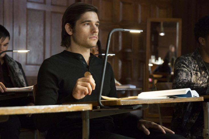 "THE MAGICIANS -- ""Unauthorized Magic"" -- Pictured: Jason Ralph as Quentin -- (Photo by: Hilary Bronwyn Gayle/Syfy)"