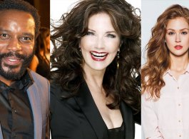 Chad L. Coleman, Lynda Carter, Maggie Geha Cast On DC Shows