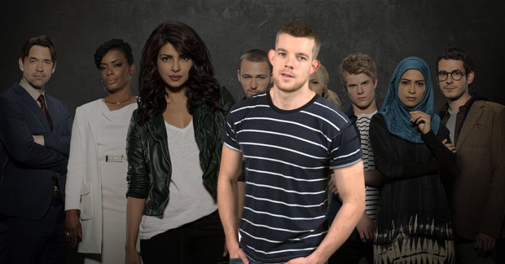 Russell Tovey Goes To Quantico