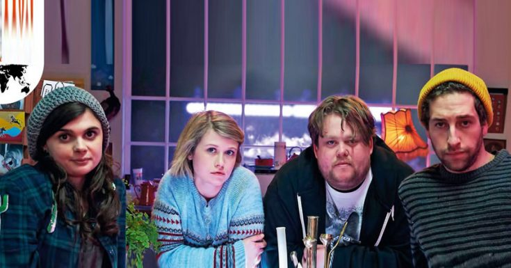 Review: E4's Wasted Is Spaced For A New Generation