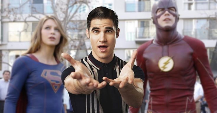 Flash/Supergirl Cast Glee's Darren Criss as Music Meister For Musical Episode