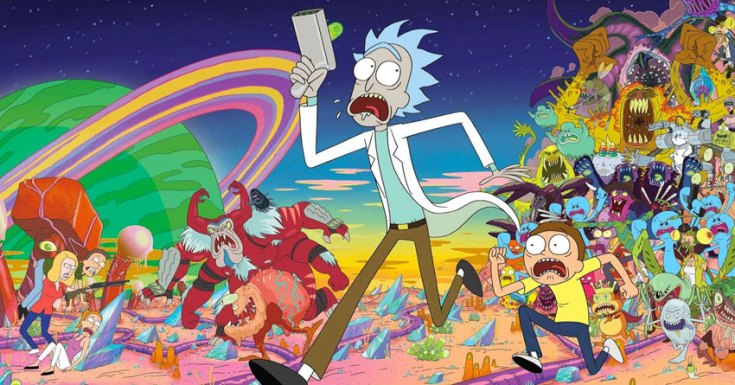 'Rick And Morty' Renewed For 70 (yes... 70!) New Episodes!