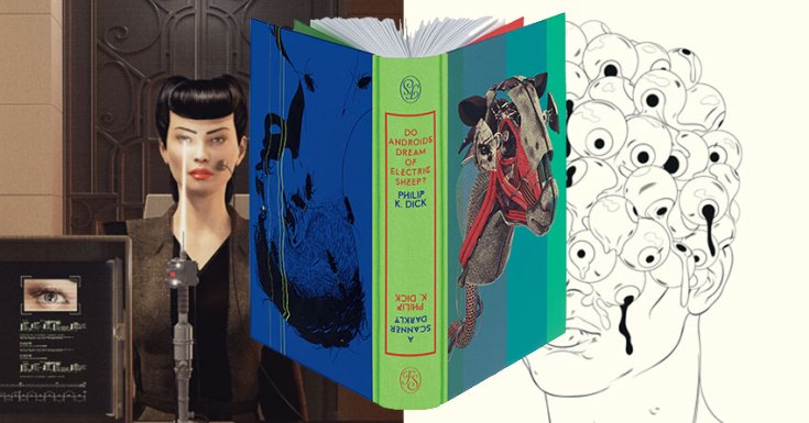 The Folio Society Release Stunning Edition of Philip K. Dick's 'Do Androids Dream of Electric Sheep?' & 'A Scanner Darkly'
