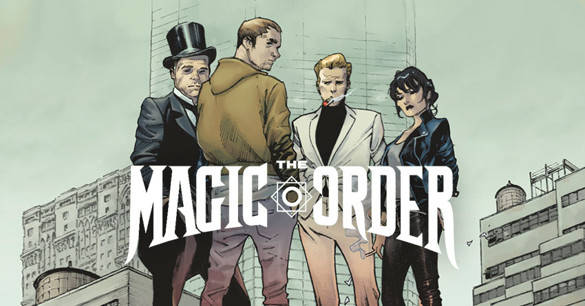 Netflix Commissions Series Based On Mark Millar's 'The Magic Order'