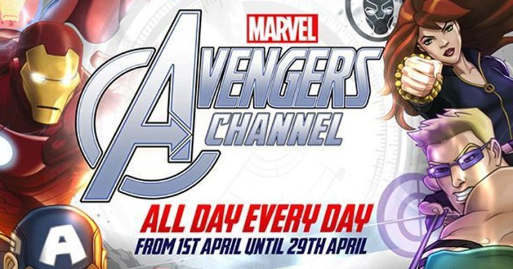 Marvel's Avengers Get Their Own Channel In April!