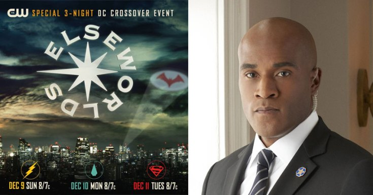 Arrowverse Crossover Event Is Called 'Elseworlds' & LaMonica Garrett Cast As The Monitor