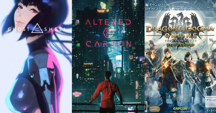 Netflix Expands Anime Offering With 'Altered Carbon: Resleeved', 'Dragon's Dogma', 'Ghost in the Shell: SAC _2045' And More
