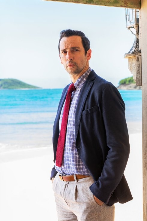 Ralf Little as Detective Inspector Neville Parker