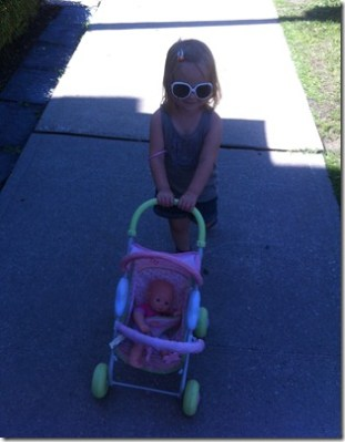 POD: Walking the Baby