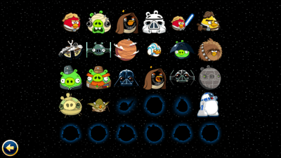 Angry Birds Star Wars: The Characters