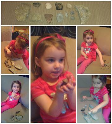 POD: Violet and her Rocks