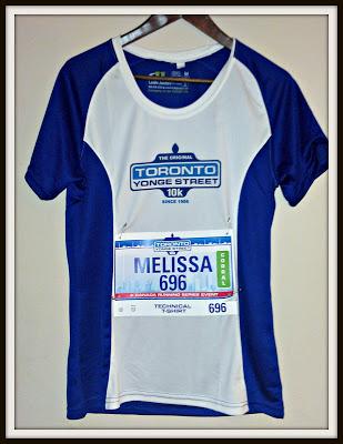 POD: Melissa's second race number