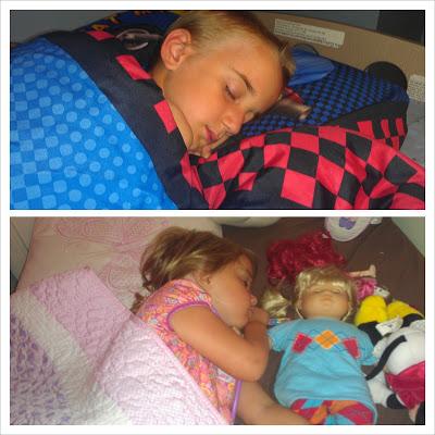 POD: A sleep in their own Beds