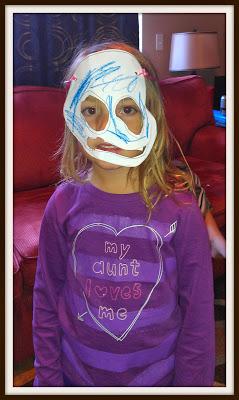 POD: Violet's Mask