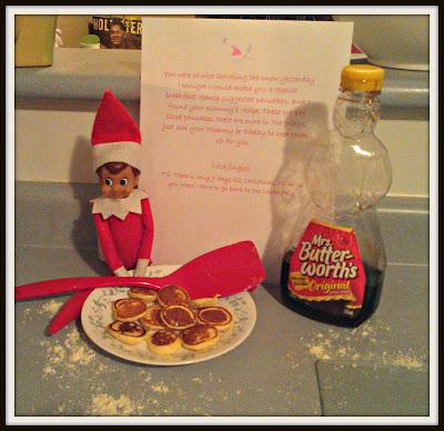 POD: Elf Sized Pancakes