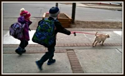 POD: Walking to school