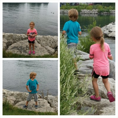 POD: Exploring the Rocks by the Lake