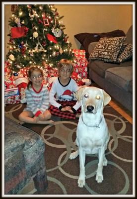 POD:  The kids on Christmas morning