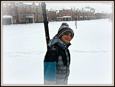 POD:  Jacob In the Snow