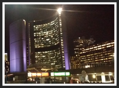POD: Nathan Phillips Square at Night