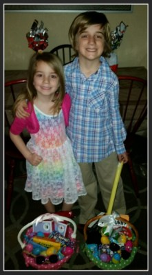 POD: Happy Kids on Easter Morning