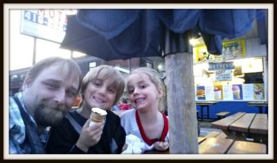 POD: Evening Ice Cream