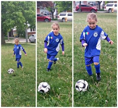 POD: Violet starts soccer
