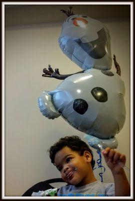 POD:  Birthday Boy and the Snowman