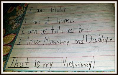 POD: Violet's Words