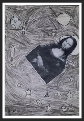POD: Mona Lisa in Space