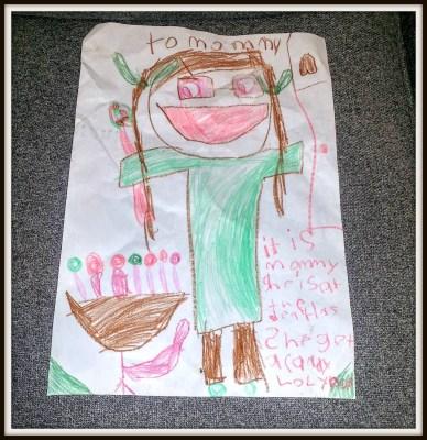 POD: Violet's Drawing