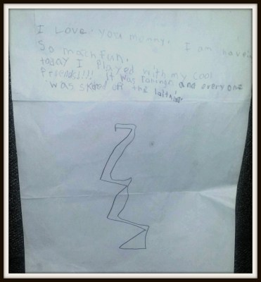 POD: Violet's letter from Camp
