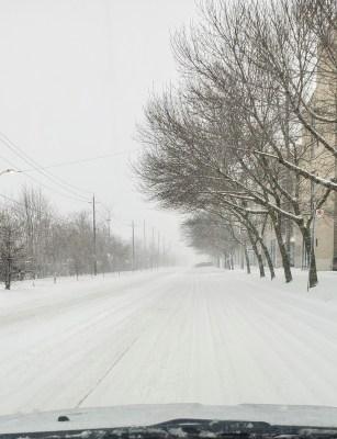 POD: Snowy Drive